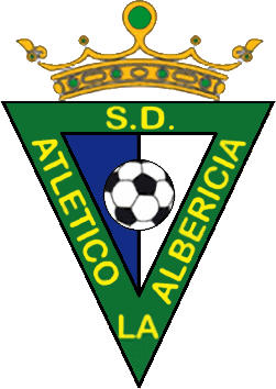 Escudo de S.D. ATLÉTICOS LA ALBERICIA (CANTABRIA)