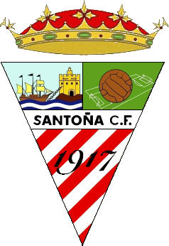 Escudo de SANTOÑA CF (CANTABRIA)