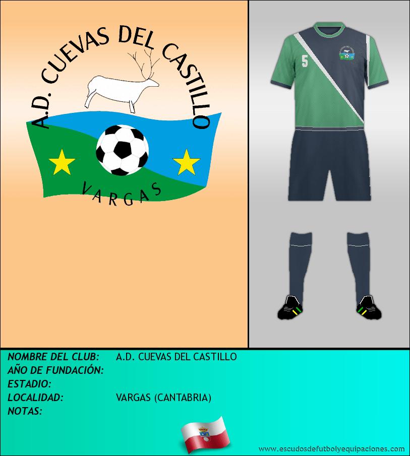 Escudo de A.D. CUEVAS DEL CASTILLO