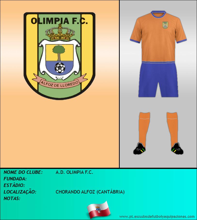 Escudo de A.D. OLIMPIA F.C.