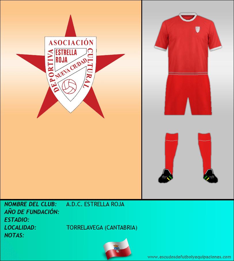 Escudo de A.D.C. ESTRELLA ROJA
