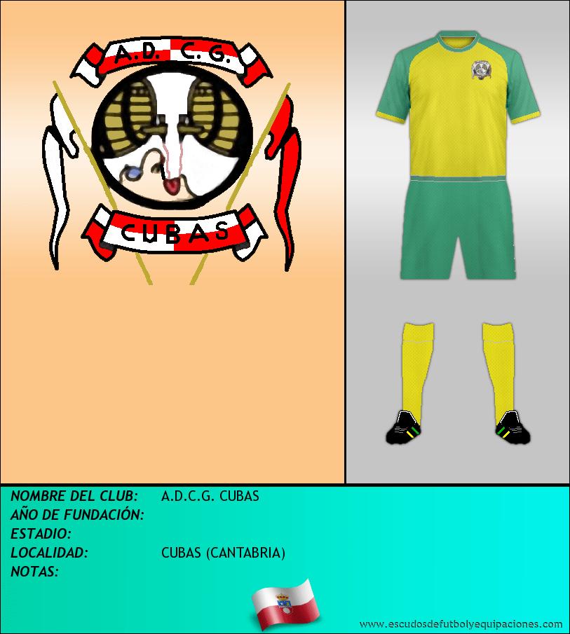 Escudo de A.D.C.G. CUBAS