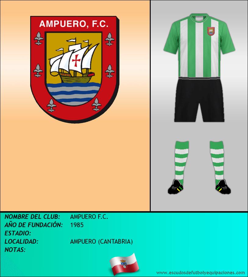 Escudo de AMPUERO F.C.