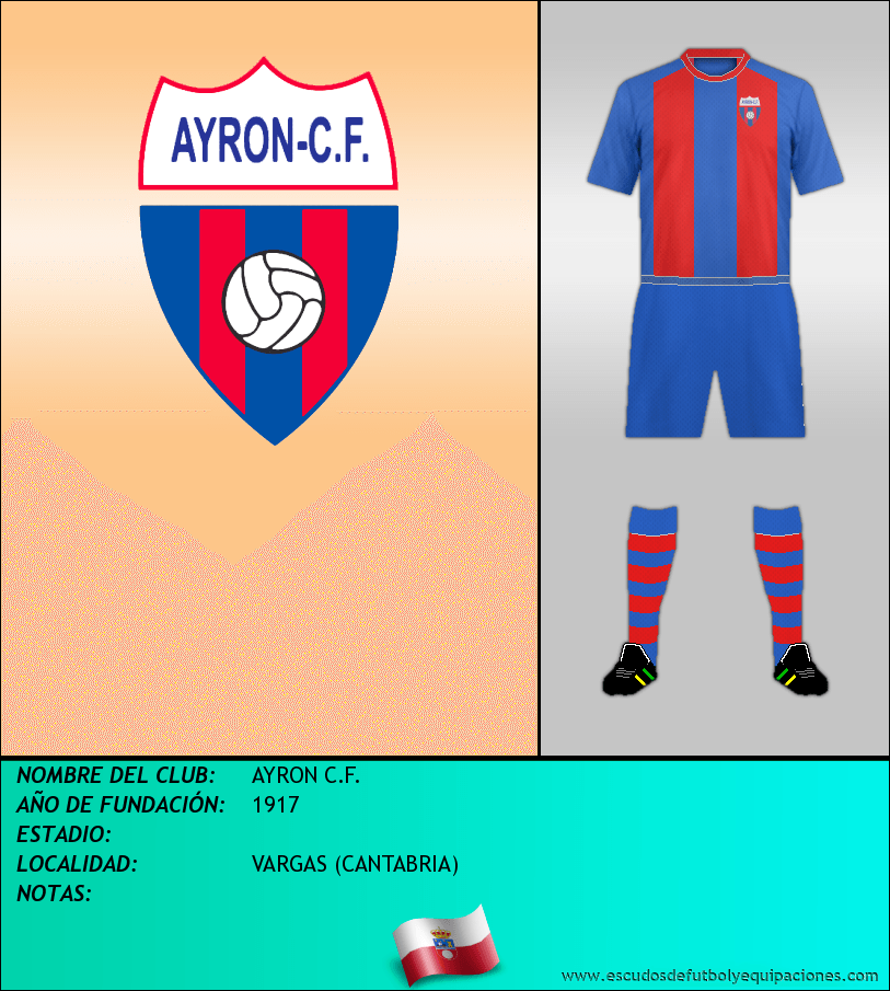 Escudo de AYRON C.F.