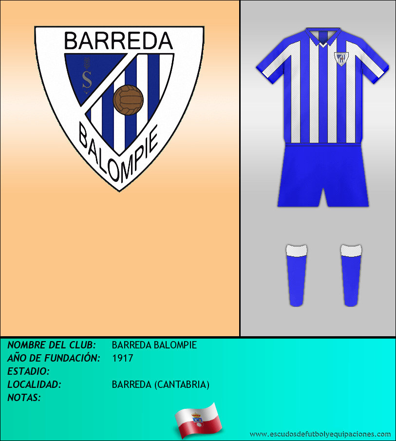 Escudo de BARREDA BALOMPIE
