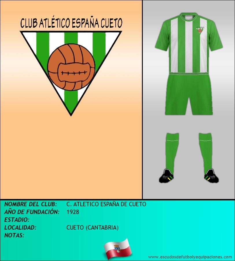 Escudo de C. ATLETICO ESPAÑA DE CUETO