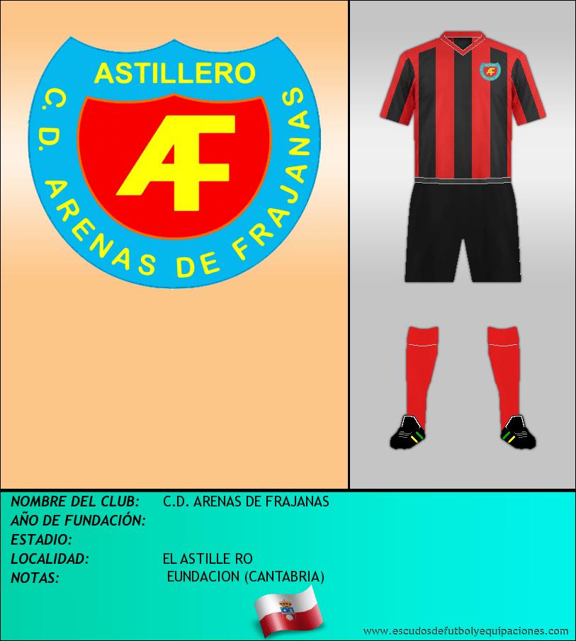 Escudo de C.D. ARENAS DE FRAJANAS
