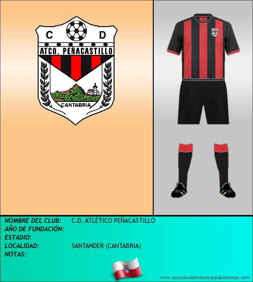 Escudo de C.D. ATLÉTICO PEÑACASTILLO