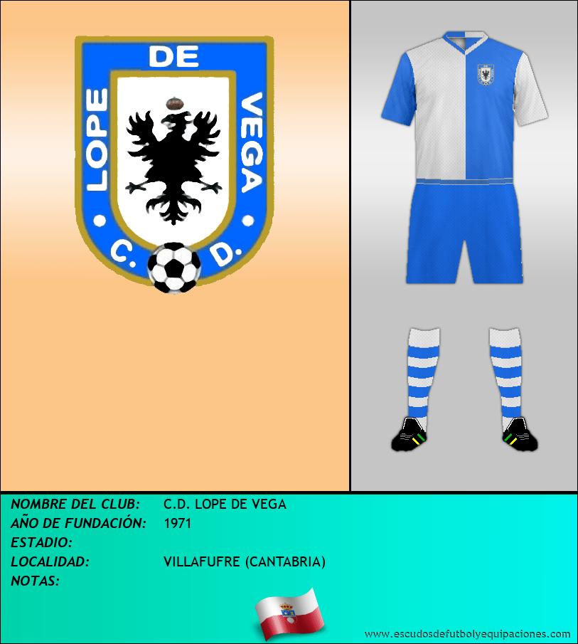 Escudo de C.D. LOPE DE VEGA