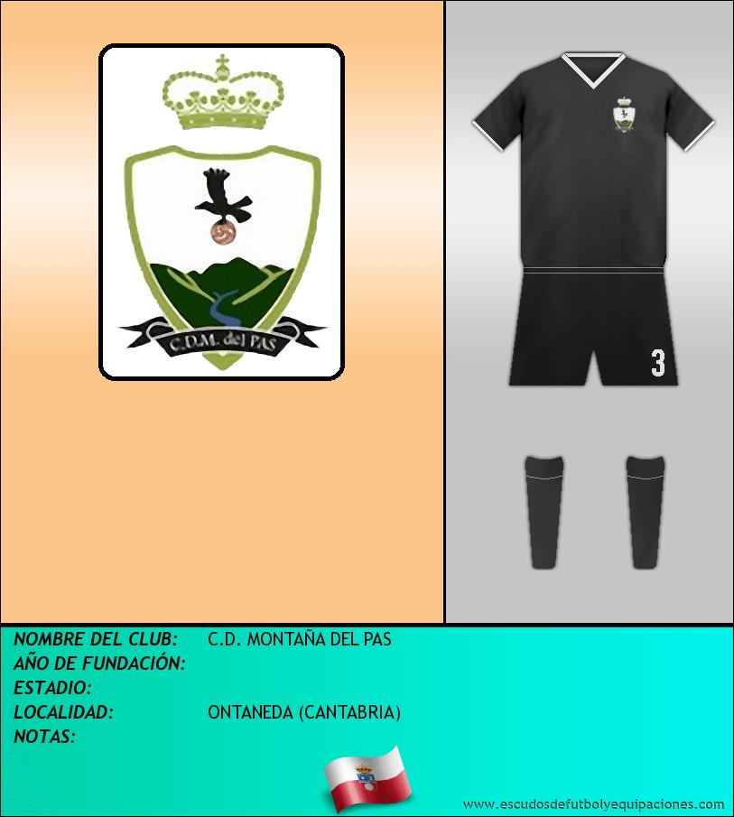 Escudo de C.D. MONTAÑA DEL PAS