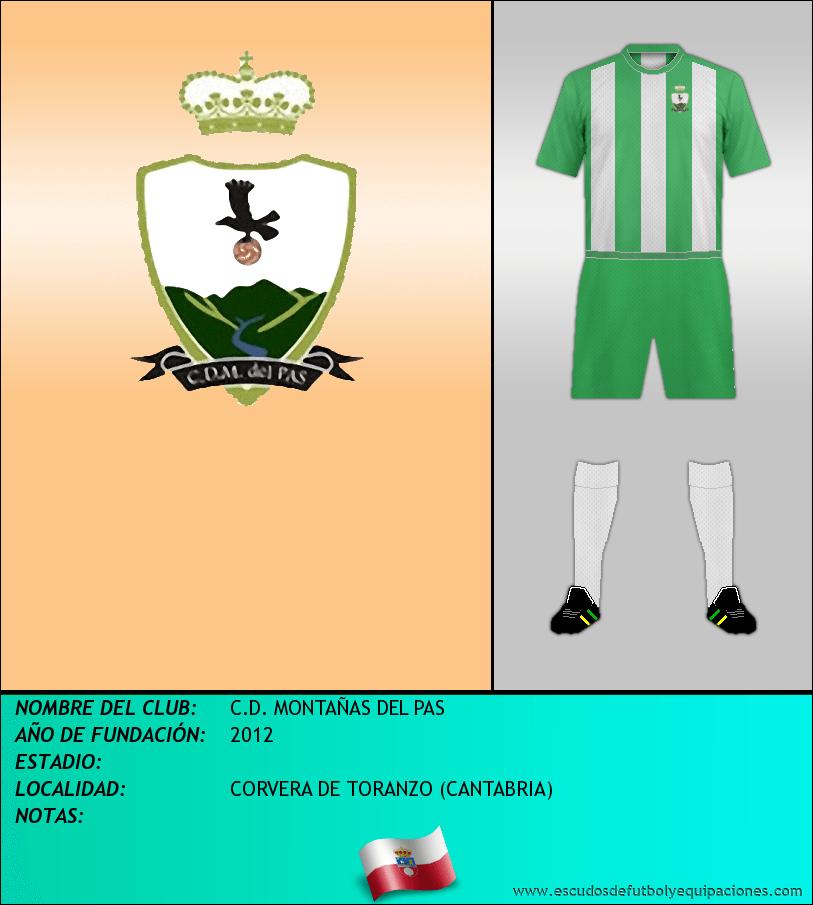 Escudo de C.D. MONTAÑAS DEL PAS