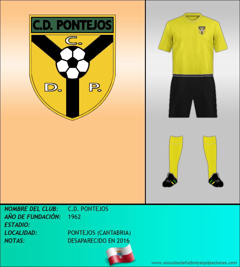 Escudo de C.D. PONTEJOS