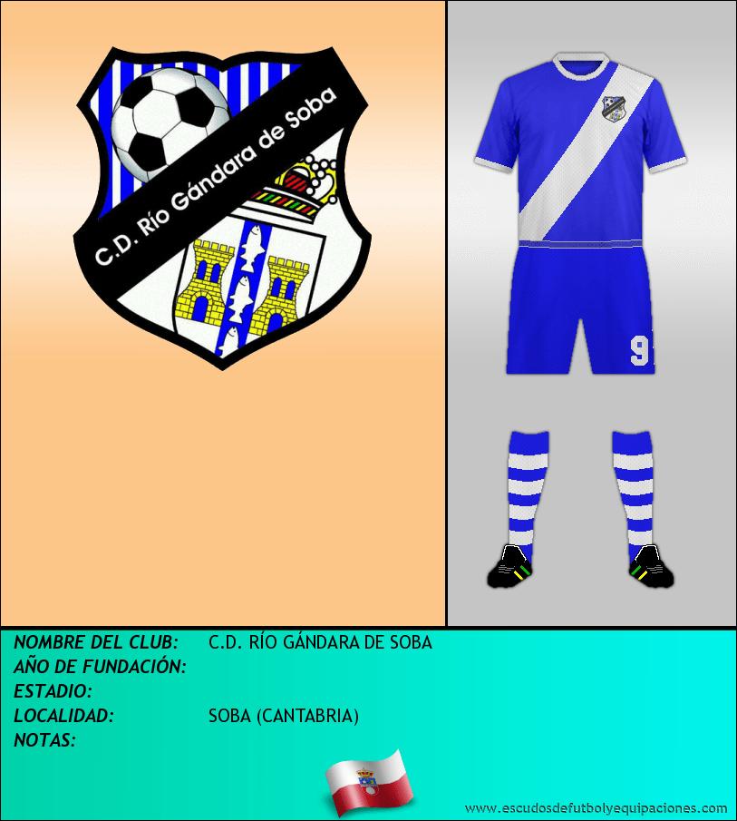 Escudo de C.D. RÍO GÁNDARA DE SOBA