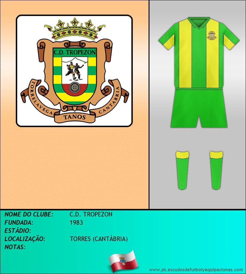 Escudo de C.D. TROPEZON