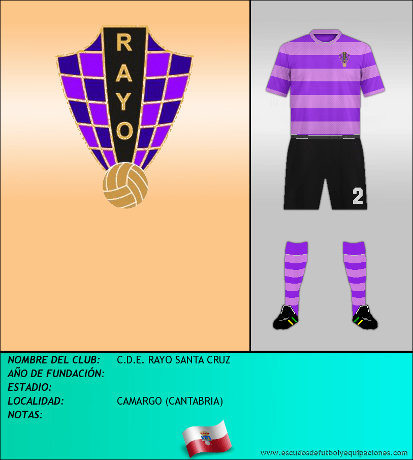 Escudo de C.D.E. RAYO SANTA CRUZ