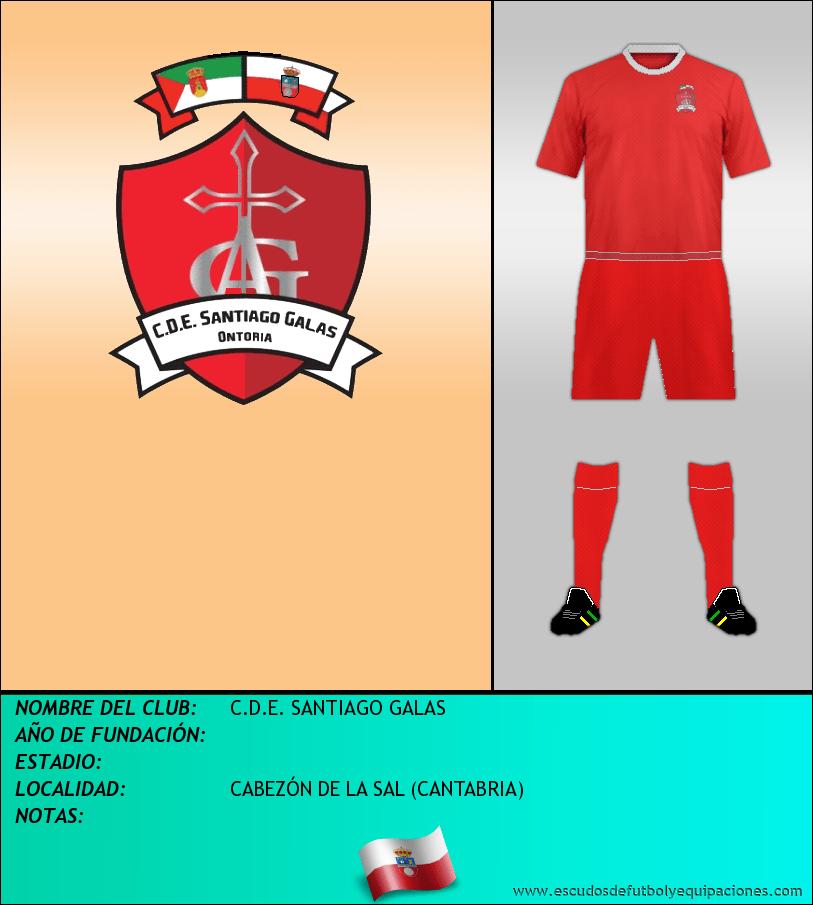 Escudo de C.D.E. SANTIAGO GALAS