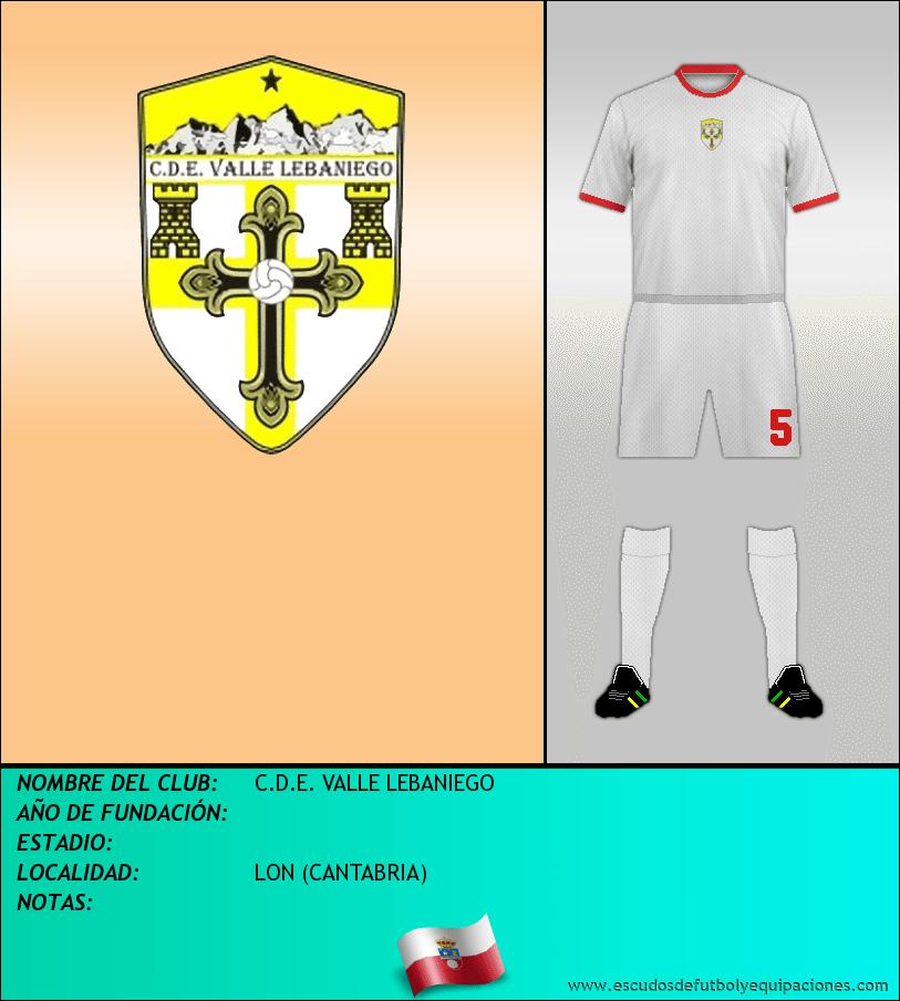 Escudo de C.D.E. VALLE LEBANIEGO