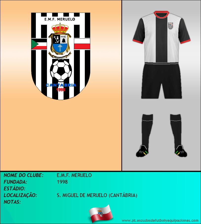Escudo de E.M.F. MERUELO