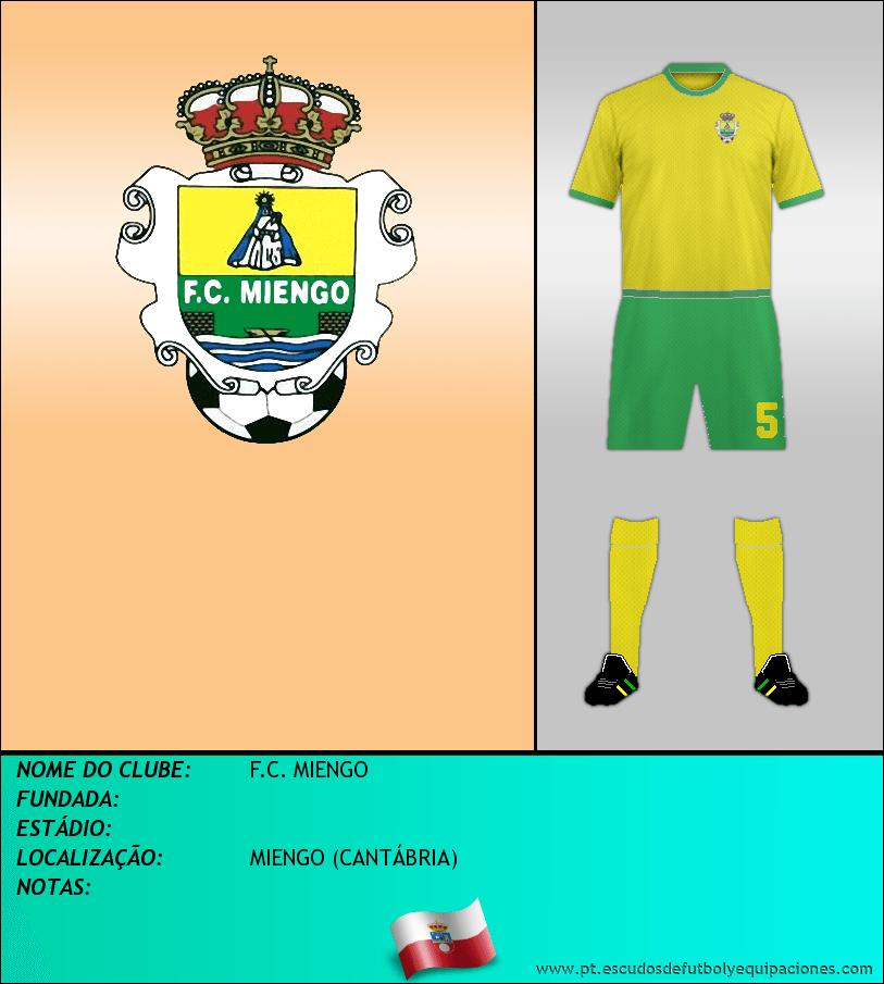 Escudo de F.C. MIENGO