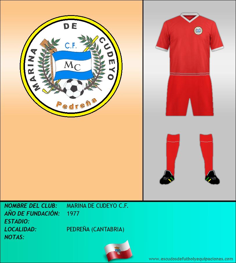 Escudo de MARINA DE CUDEYO C.F.