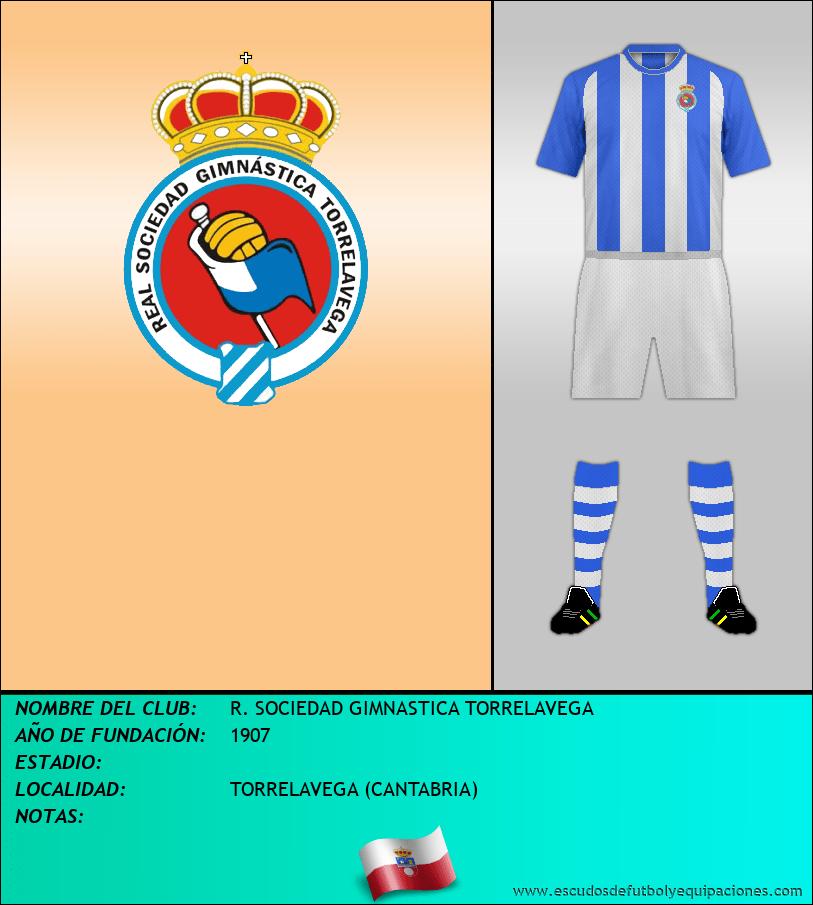 Escudo de R. SOCIEDAD GIMNASTICA TORRELAVEGA