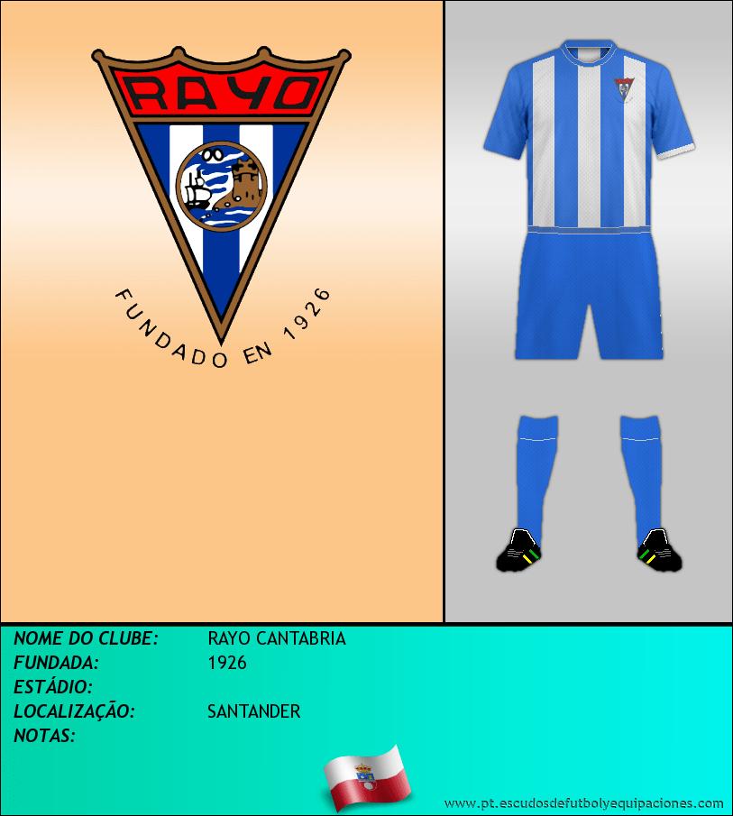 Escudo de RAYO CANTABRIA