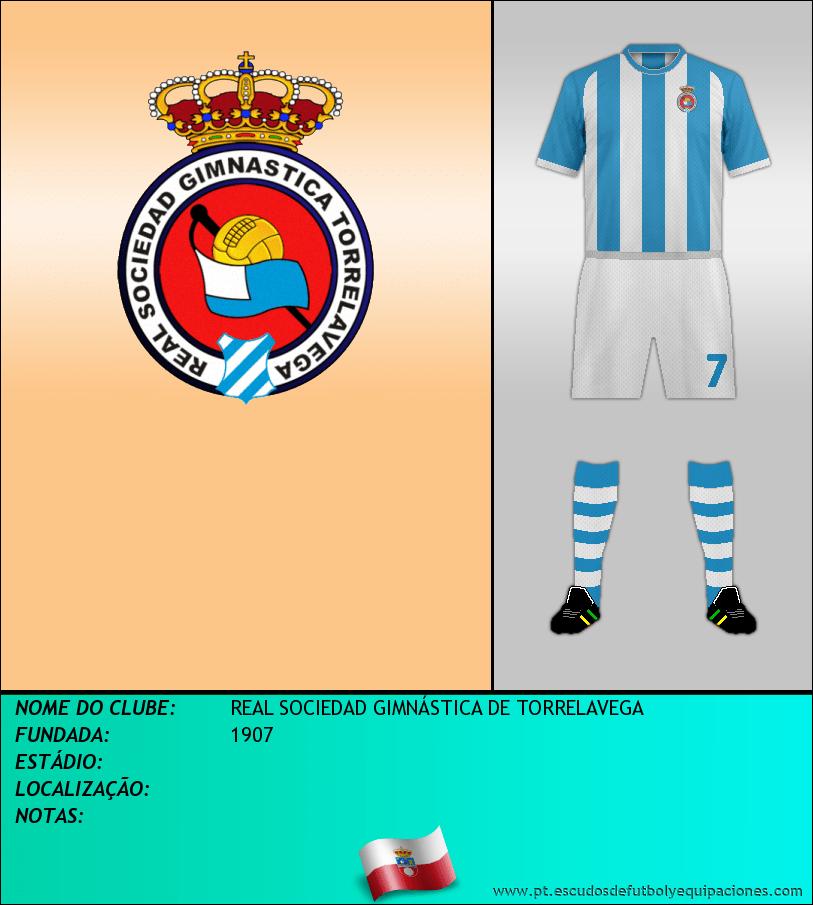 Escudo de REAL  SDAD. GIMNASTICA DE TORRELAVEGA