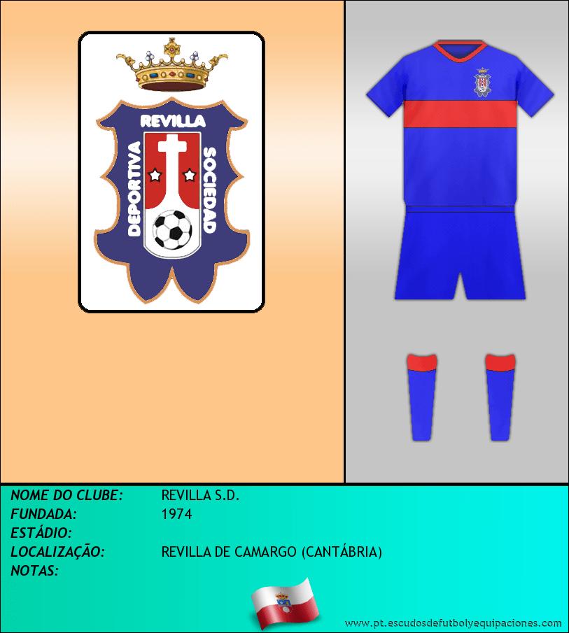 Escudo de REVILLA S.D.