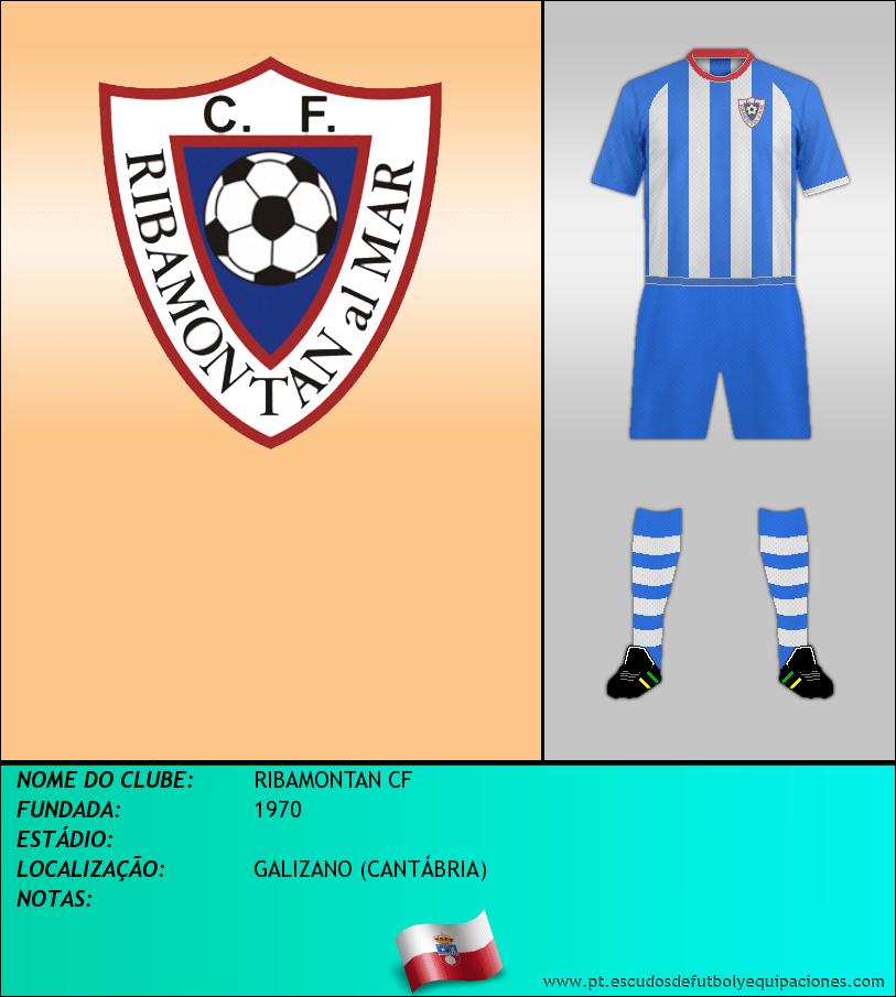 Escudo de RIBAMONTAN CF