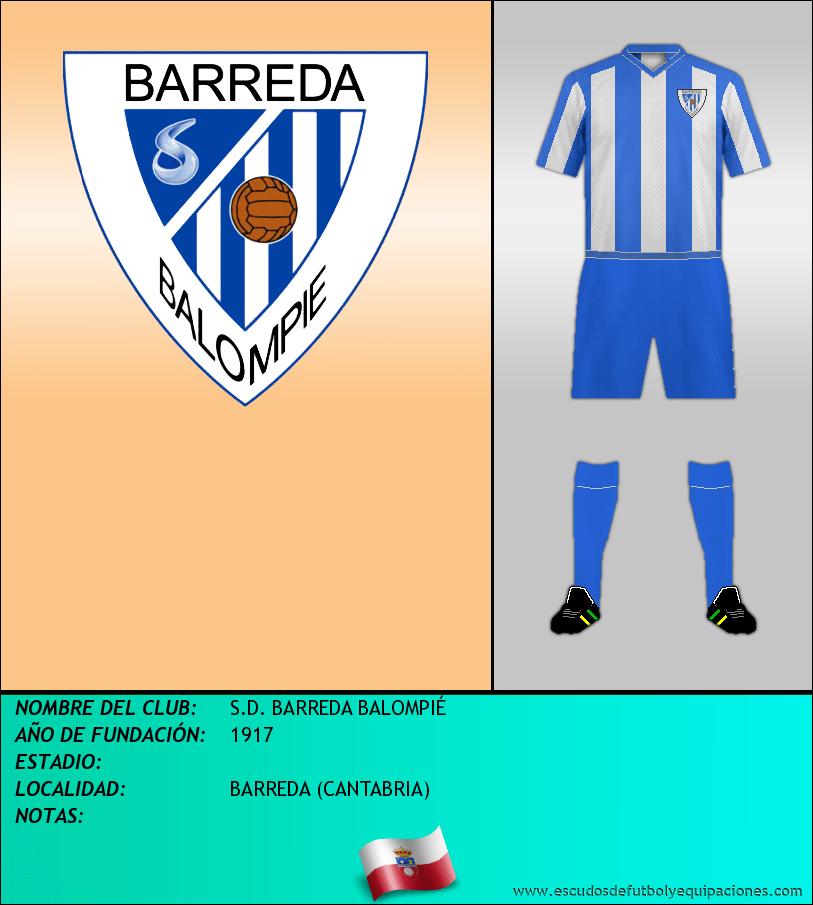 Escudo de S.D. BARREDA BALOMPIÉ
