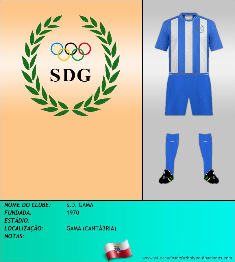 Escudo de S.D. GAMA