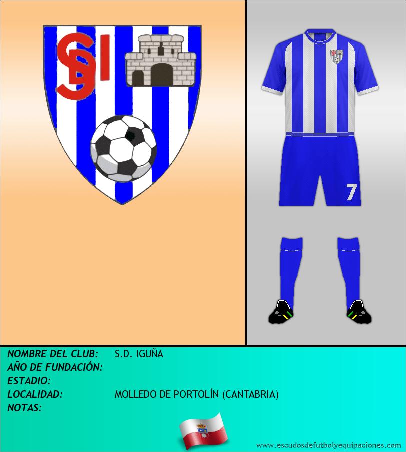 Escudo de S.D. IGUÑA
