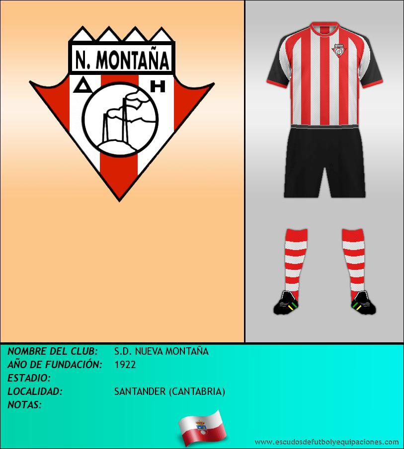 Escudo de S.D. NUEVA MONTAÑA