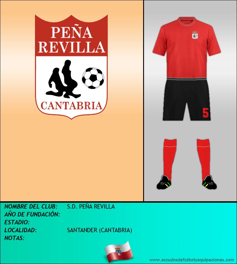 Escudo de S.D. PEÑA REVILLA