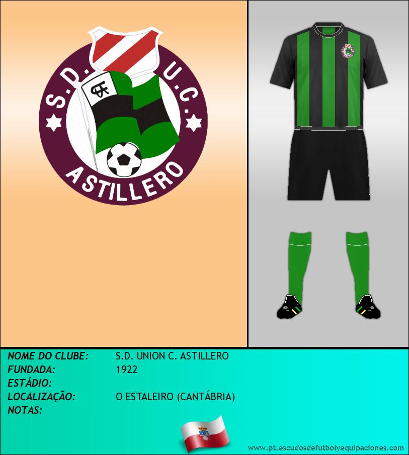 Escudo de S.D. UNION C. ASTILLERO