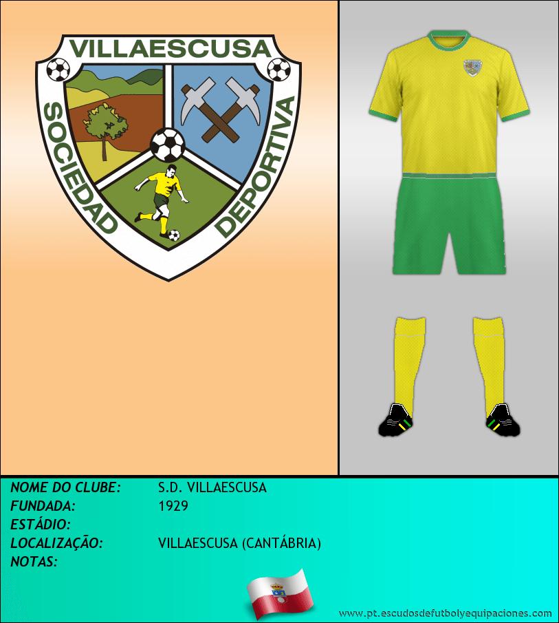 Escudo de S.D. VILLAESCUSA