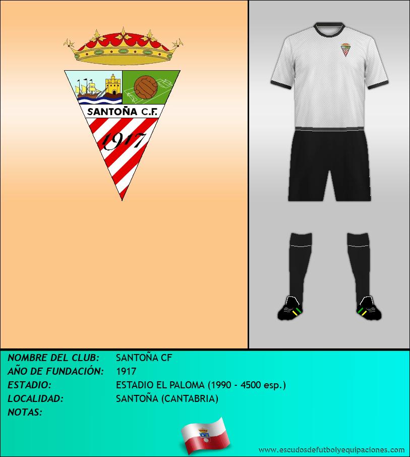 Escudo de SANTOÑA CF