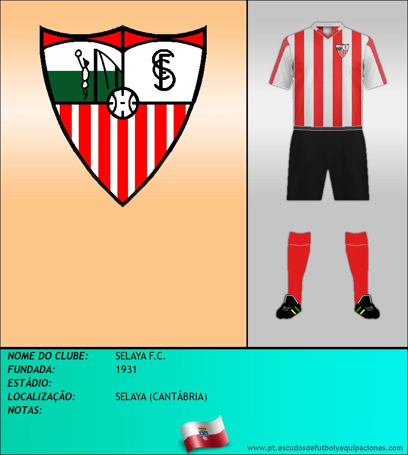 Escudo de SELAYA F.C.