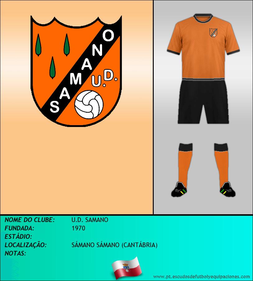 Escudo de U.D. SAMANO