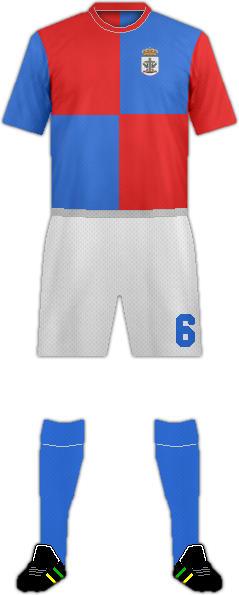 Camiseta SANTA CRUZ UJAF C.F.