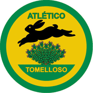 Escudo de ATLÉTICO TOMELLOSO (CASTILLA LA MANCHA)