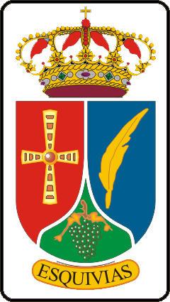 Escudo de ATL.ESQUIVIAS . (CASTILLA LA MANCHA)