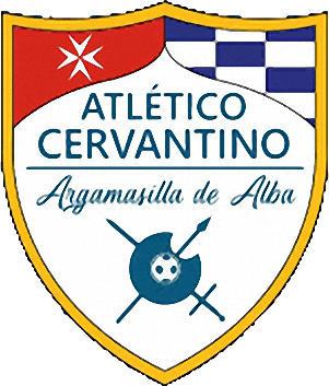 Escudo de C.D. ATLÉTICO CERVANTINO (CASTILLA LA MANCHA)