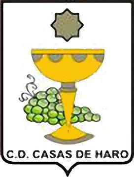 Escudo de C.D. CASAS DE HARO (CASTILLA LA MANCHA)