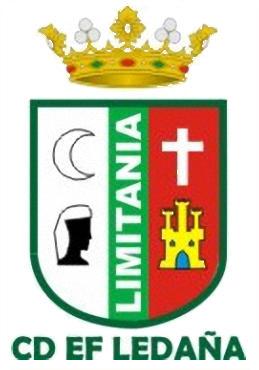 Escudo de C.D. E.F. LEDAÑA (CASTILLA LA MANCHA)