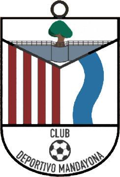 Escudo de C.D. MANDAYONA (CASTILLA LA MANCHA)