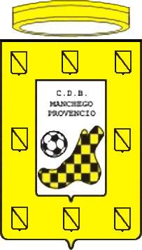 Escudo de C.D.B. MANCHEGO PROVENCIO (CASTILLA LA MANCHA)