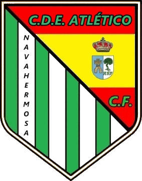 Escudo de C.D.E. ATLÉTICO NAVAHERMOSA (CASTILLA-LA MANCHA)
