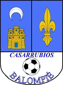 Escudo de C.D.E. CASARRUBIOS BALOMPIÉ (CASTILLA LA MANCHA)