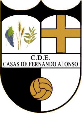 Escudo de C.D.E. CASAS DE FERNANDO ALONSO (CASTILLA LA MANCHA)